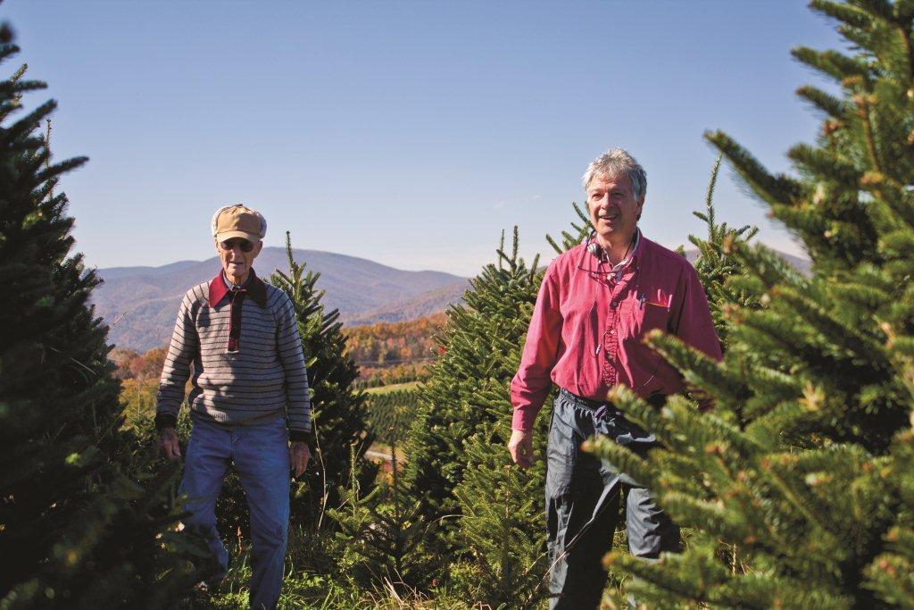 David and Sam in 2013