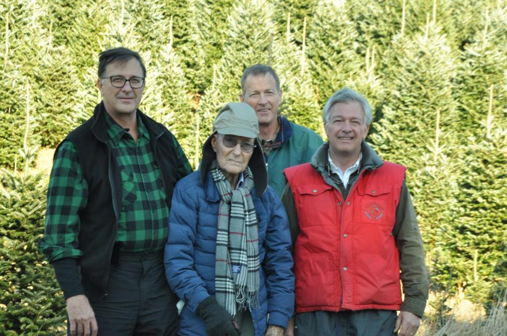 From left: Sam C. Cartner, Sam Cartner Sr., Jim Cartner and David Cartner.